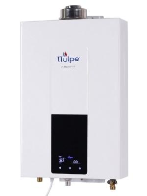 Geschlossen konstante Temperatur Gas Durchlauferhitzer, Raumluftunabhängig, 12 LPM Erdgas (20 mbar).