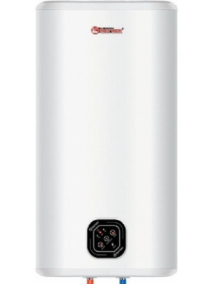 """80 Liter flacher """"smart"""" Warmwasserbereiter mit intelligenter Technologie. Kann vertikal oder horizontal verwendet werden"""